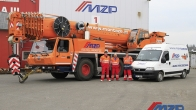 Purchase of a new crane GROVE GMK 5220 (2014)