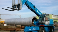 Purchase of a new rotating telehandler Genie GTH 4020-ER (2014)
