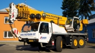 Purchase of the cranes, Terex Demag AC55L (2012)