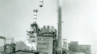 Havířov-Suchá power station - the boiler stack replacement (1976)